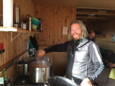 THE MEALS IN THE MOUNTAIN HUTS