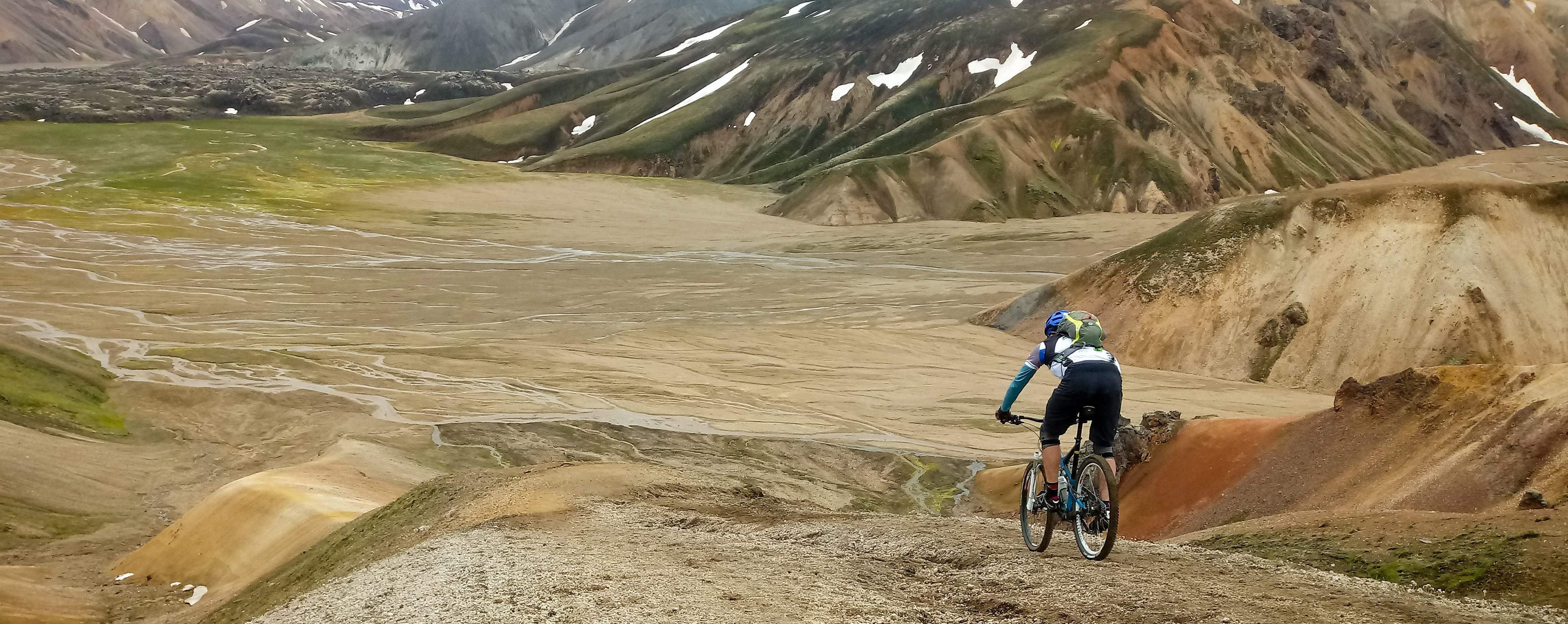 Single track madness Landmannalaugar MTB